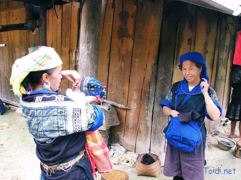 người Mông ở Mù Căng Chải