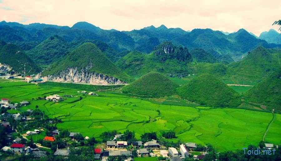 Núi đôi Quản Bạm, du lịch Hà Giang