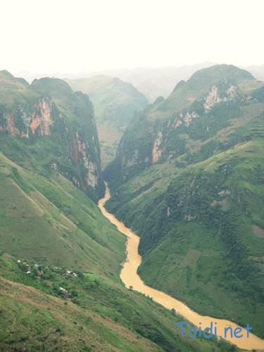 Dòng sông nho quế, du lịch Hà Giang