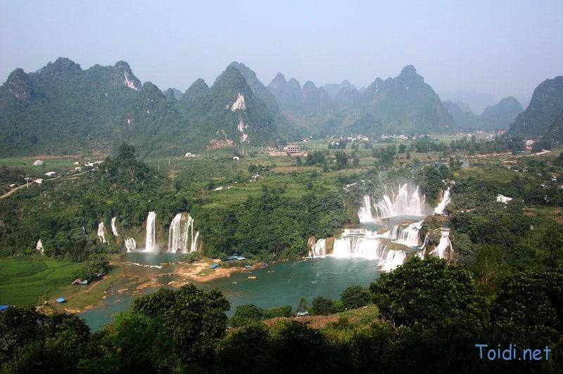 Thác Bản Giốc Việt Nam