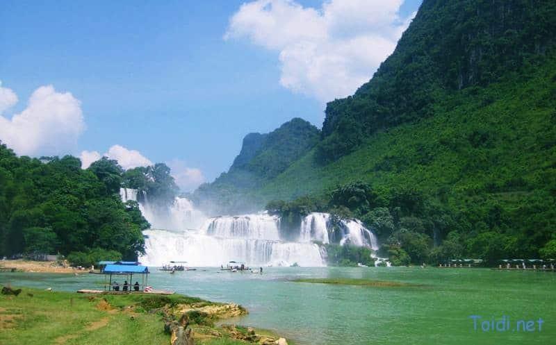 Thac Ban Gioc cao bang Du lịch Thác Bản Giốc Cao Bằng