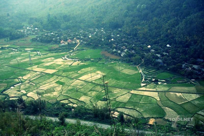 thung lung Mai Chau