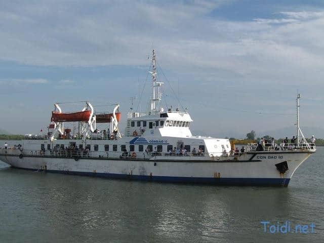 Tầu Côn Đảo 10