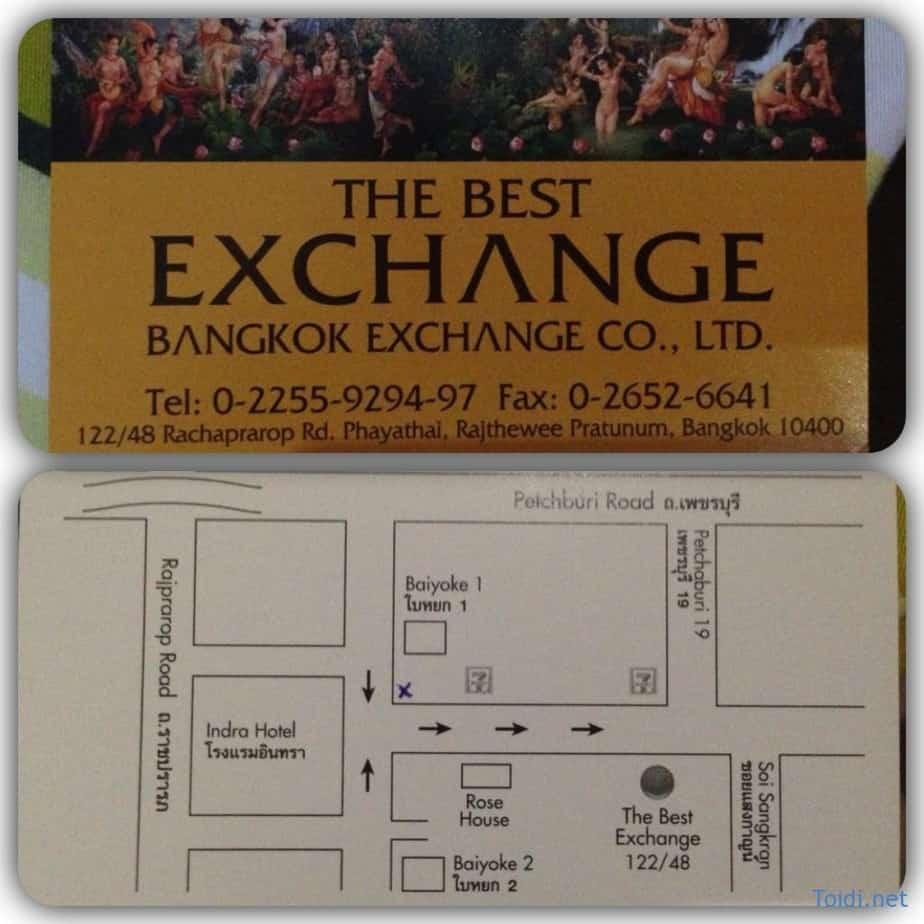 Doi tien o Bangkok