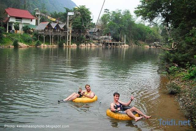Tubing o Vang Vieng