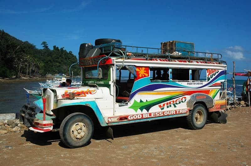 Xe jeepney philippines Phương tiện đi lại ở Philippines