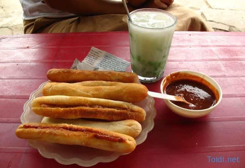 Banh mi cay Hai Phong