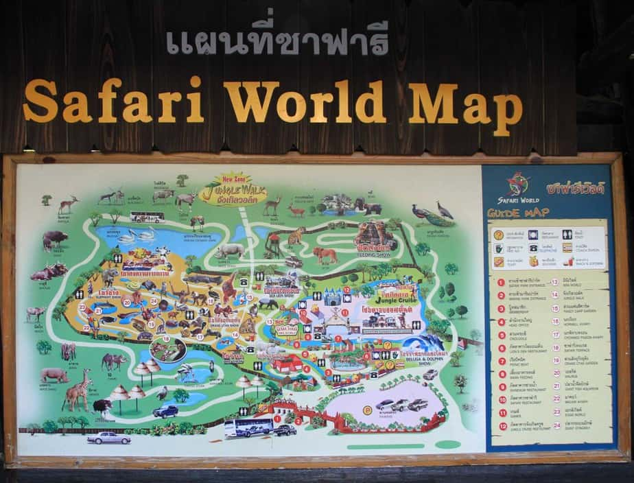 Safari World Map