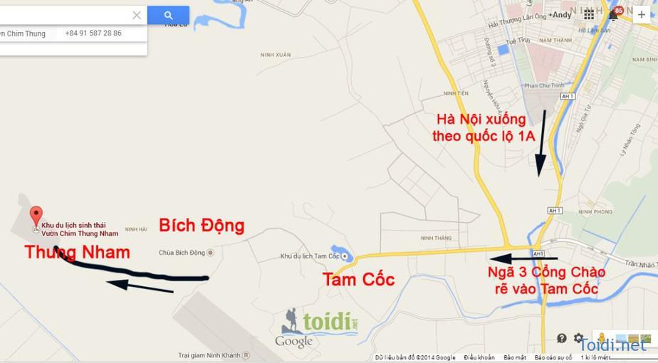 Ban Do Thung Nham