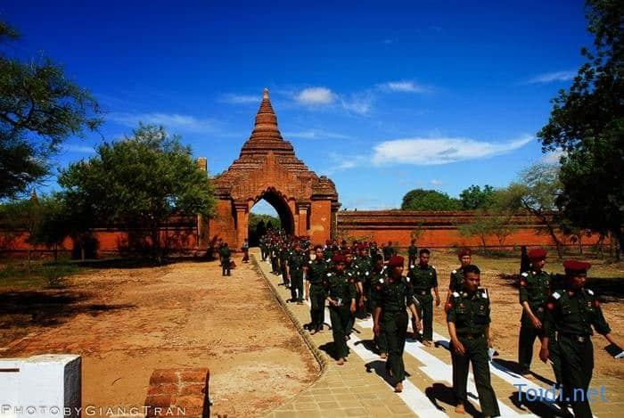 Du lich Bagan myanmar