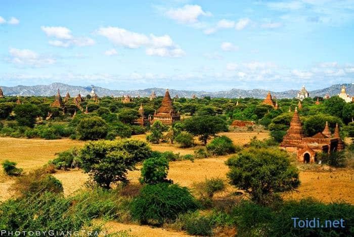 Du lich Bui Myanmar Bagan