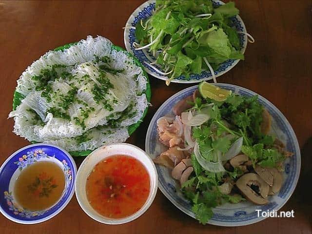 Banh Hoi Long Heo Kinh nghiệm Du lịch Tuy Hòa