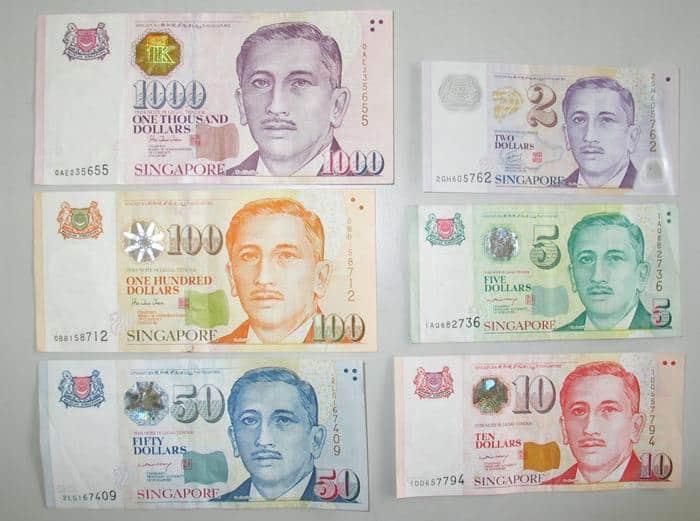 tien te singapore