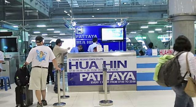 san bay bangkok di Pattaya