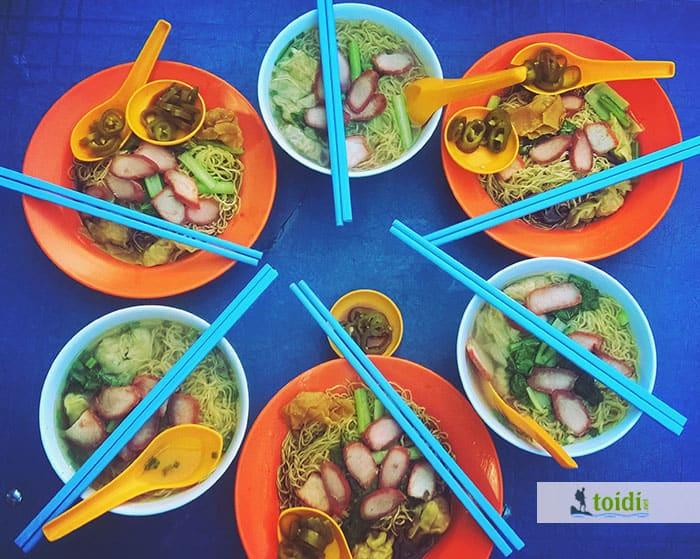 ăn gì ở Malaysia