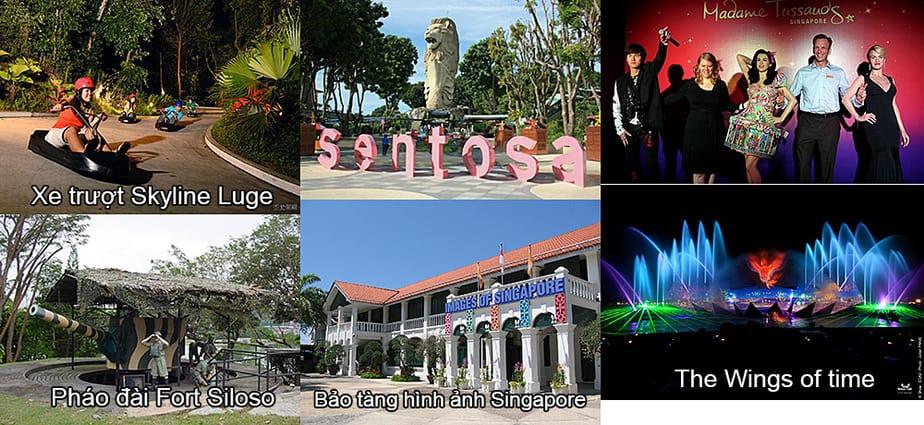 đảo sentosa singapore