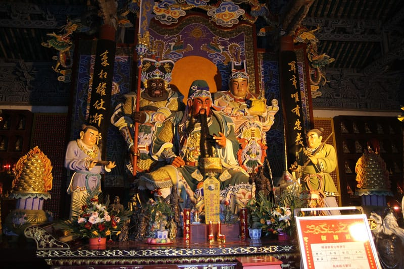 đền thờ quan vũ