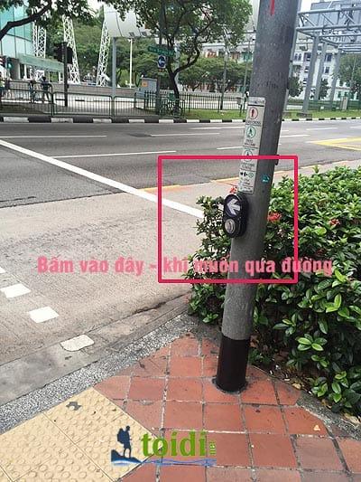 đi bộ ở Singapore