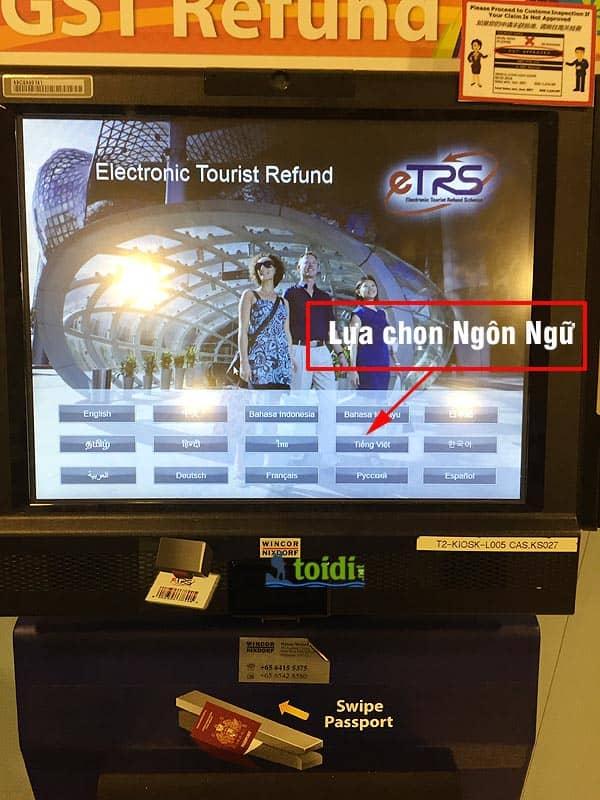 Hoàn thuế ở Singapore