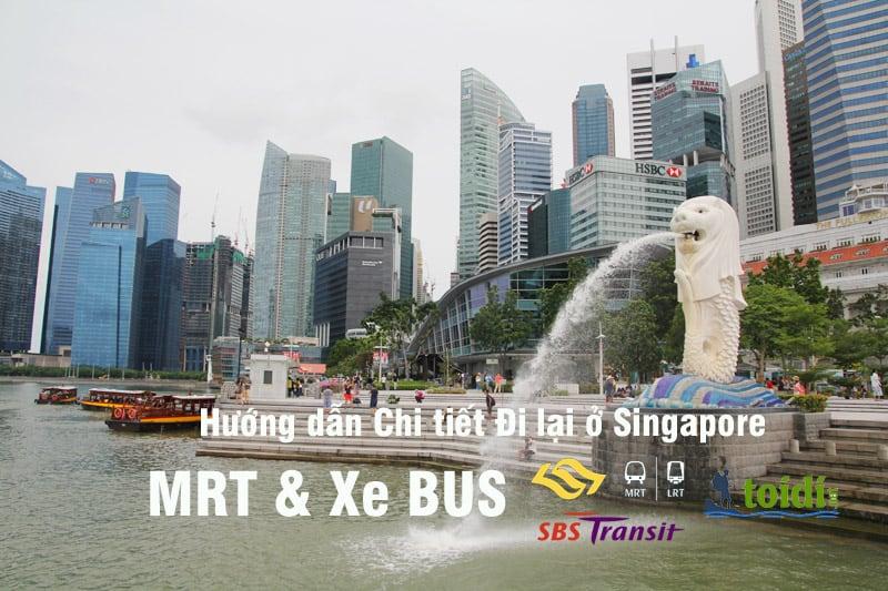 hướng dẫn đi lại ở Singapore