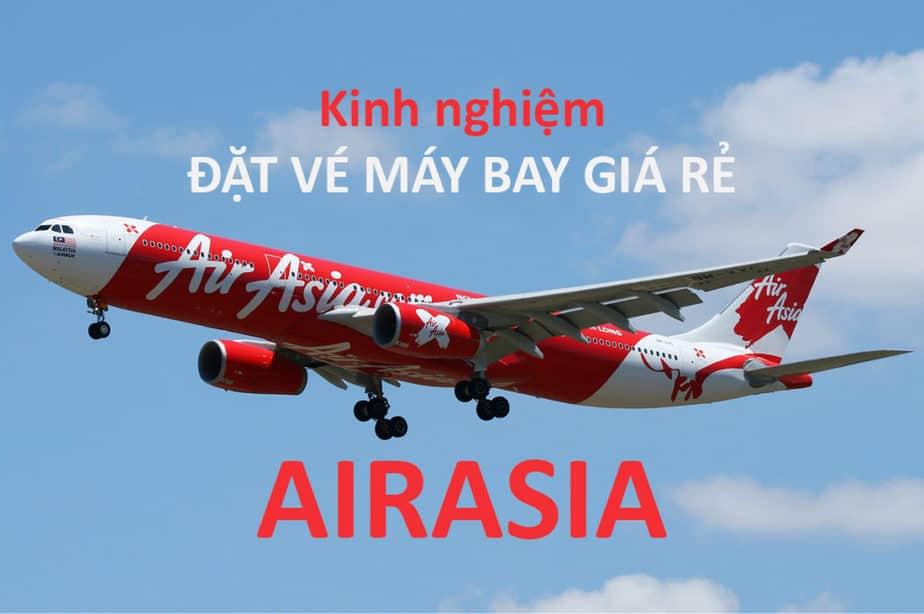 Vé máy bay giá rẻ AirAsia