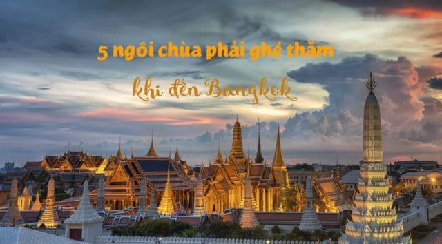 những ngôi chùa ở Bangkok