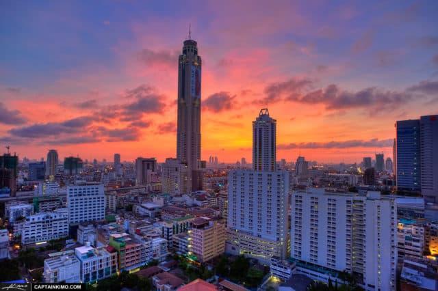 điểm vui chơi ở bangkok