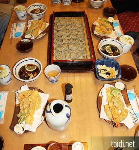 Mi soba vùng Ojiya Nhật bản