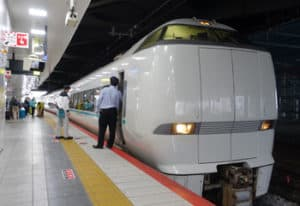 Japan-limited-express-train
