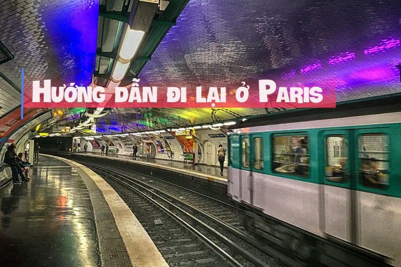 hướng dẫn đi lại ở paris