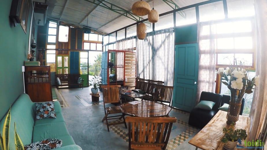homestay Tuy Hòa - Trại hoa vàng homestay