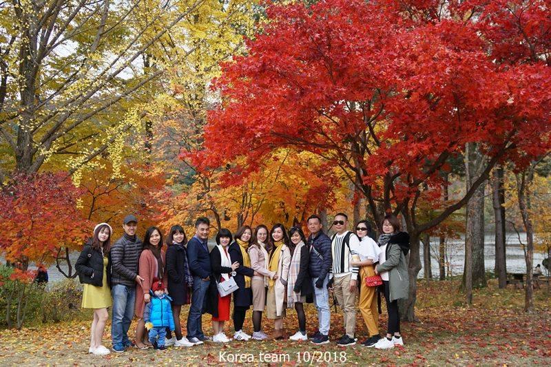 Rủ Rê đi – Hàn Quốc Mùa Thu 10/2019 – 5 Ngày 5 Đêm