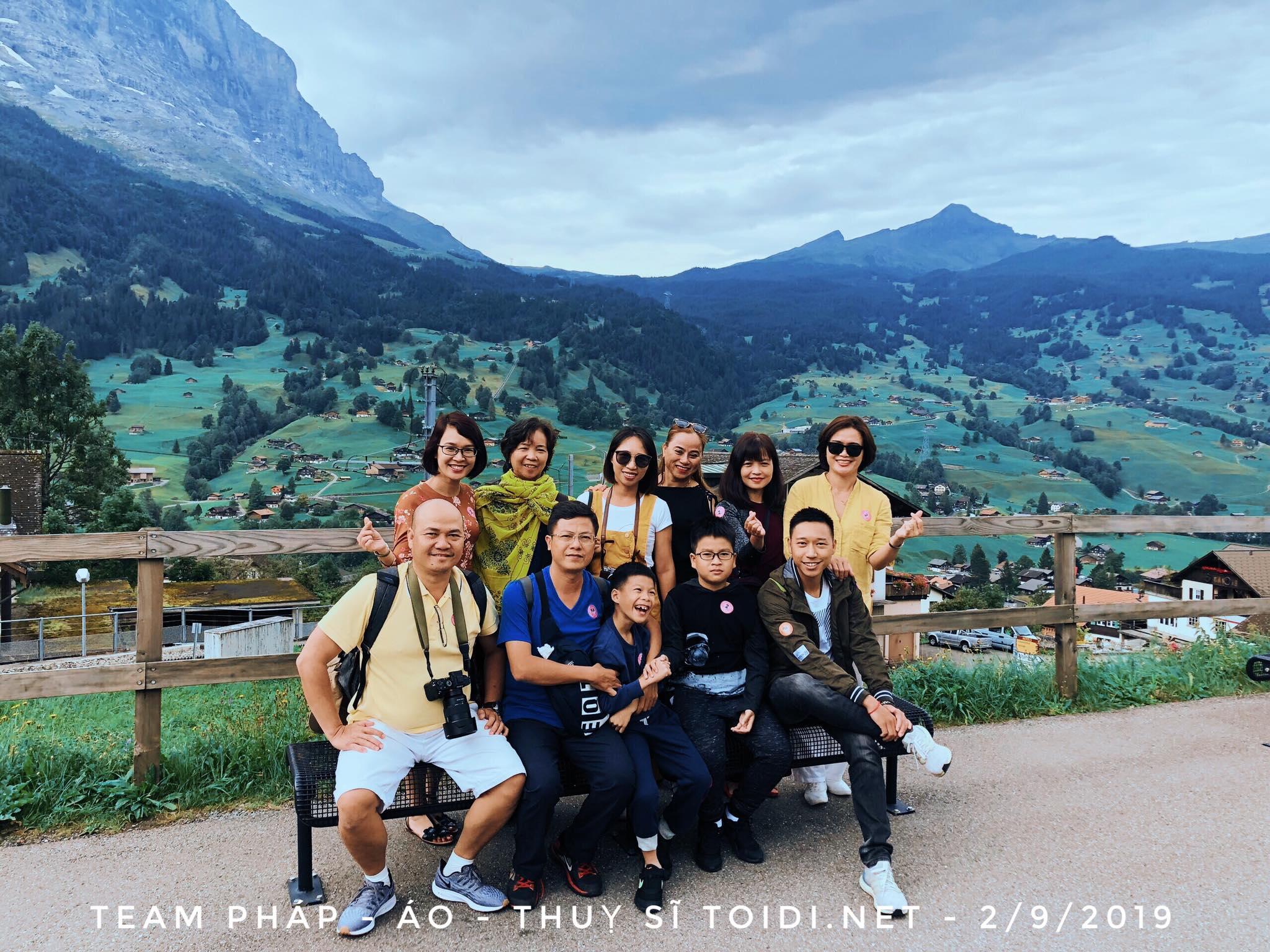Rủ rê đi châu Âu (Pháp – Thụy Sĩ – Áo) – dịp lễ 30/04/2020