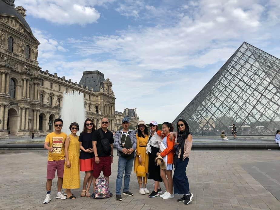 Lập Team Du lịch Hy Lạp – Pháp – Ý – 2020