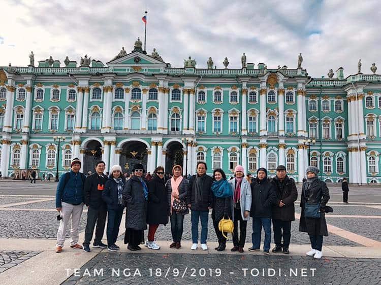 Du Lịch Saint PetersburgNga – Cẩm Nang Mới Nhất