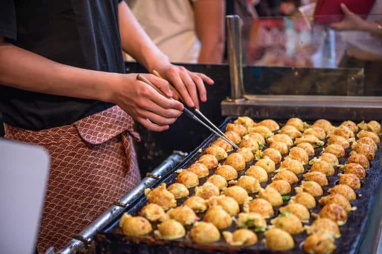 Ẩm thực Nhật Bản qua các món ăn đường phố