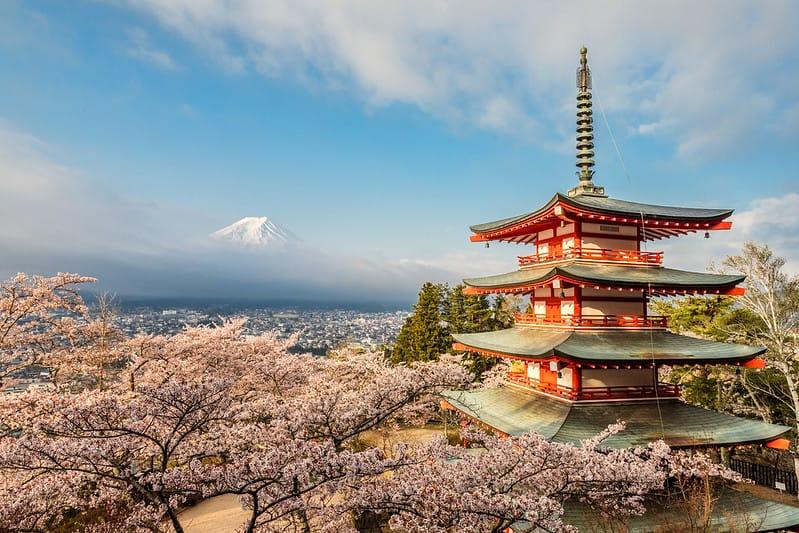 Núi Phú Sĩ Cao Bao Nhiêu mét? Nguồn Gốc hình thành ra sao