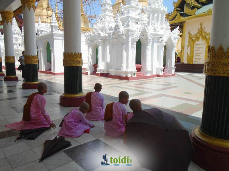 Yangon Myanmar Bật Mí Lưu Ký 2 ngày 1 đêm