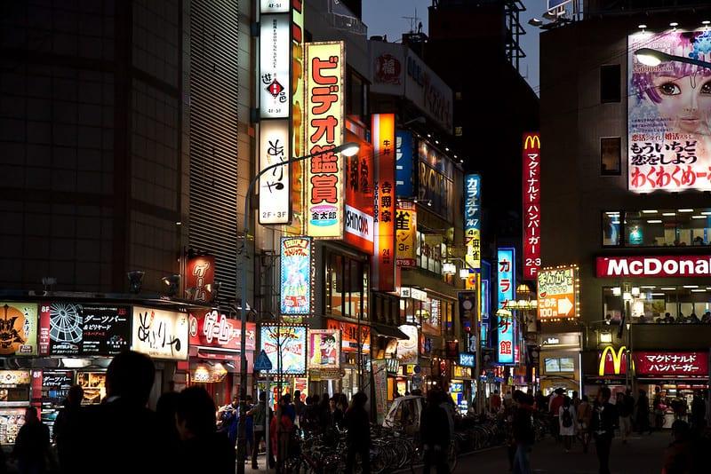 Top 3 Khu – Phố Đèn Đỏ Nhật Bản nổi tiếng Nhất là ở đâu?