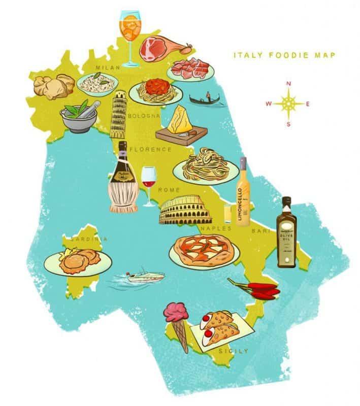 Điều gì làm Ẩm Thực Ý nổi tiếng trên thế giới