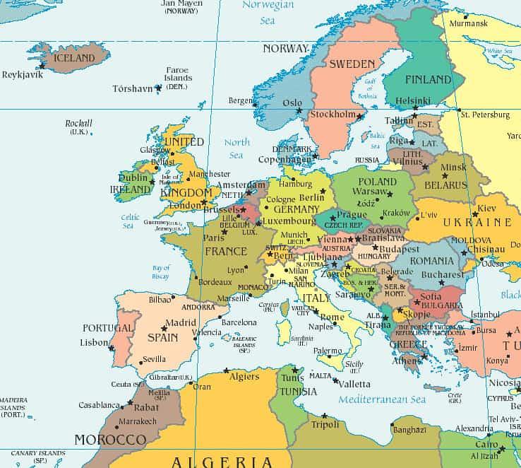 Giới thiệu Tổng Quan CHÂU ÂU – Có bao nhiêu nước thuộc Châu Âu