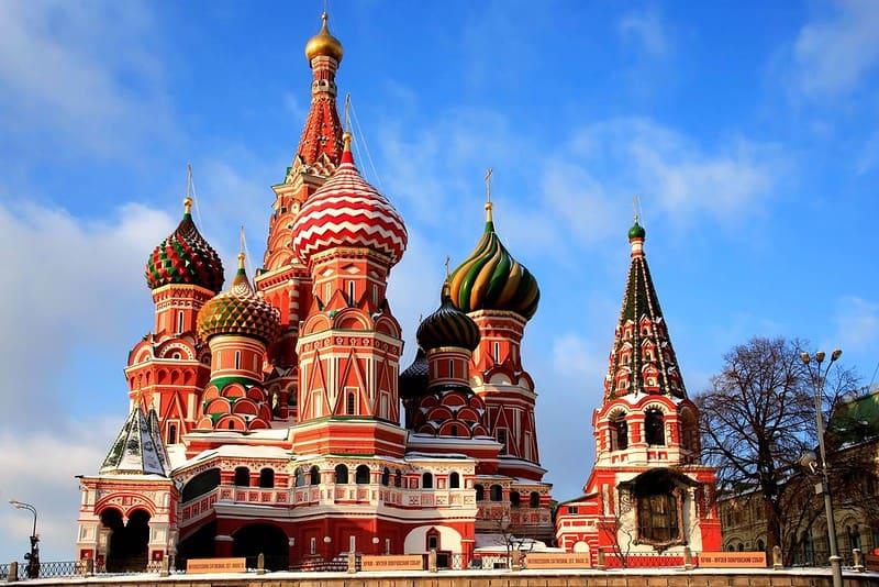 Tour Du lịch Nga từ Hà Nội, và TpHCM, Đà Nẵng